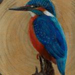 IJsvogel op hout2